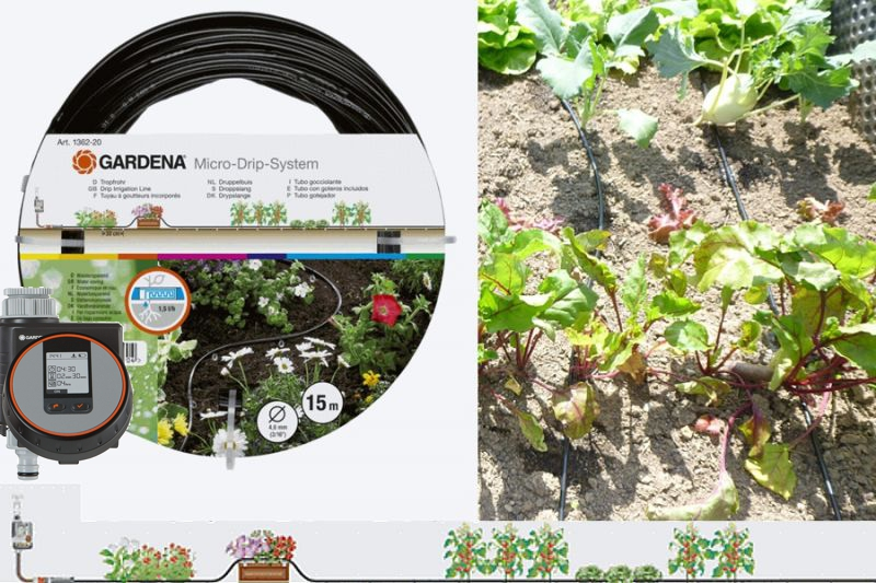 Micro Drip Gardena Fur Hochbeet Standard Hochbeet Huchler Baut